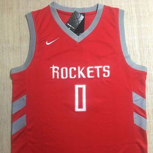 NEW Houston Rockets Russell Westbrook Nike Jersey